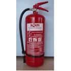 Пожарогасител прахов 6 кг АBC